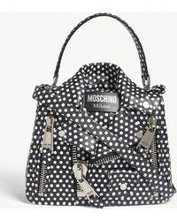 Moschino - Leather Handbag - Lyst