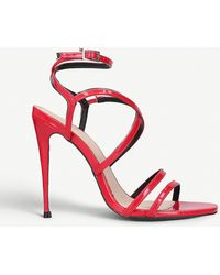 46d929dd793 Alexis Strappy Sandals - Red