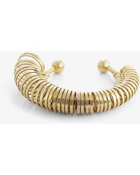 Jacquemus Baguier Multi-ring Gold-toned Bracelet - Metallic