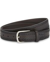 Corneliani - Crocodile-embossed Leather Belt - Lyst