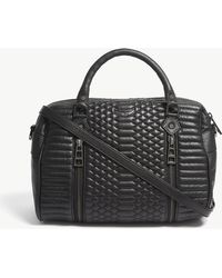 Zadig & Voltaire - Noir Black Quilted Bags Sunny Ma Cross Body Bag - Lyst