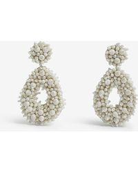 BaubleBar - Melayna Beaded Drop Earrings - Lyst