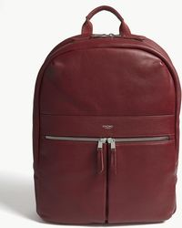 Knomo - Mayfair Beaux Leather Backpack - Lyst
