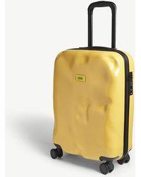 Crash Baggage Icon Cabin Four-wheel Suitcase - Yellow