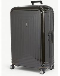 Samsonite Neopulse Spinner Four-wheel Suitcase 81cm - Black