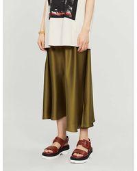 TOPSHOP khaki Skirt By Boutique - Green