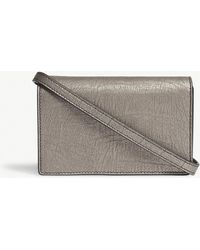 Rick Owens - Small Leather Baguette Clutch Bag - Lyst