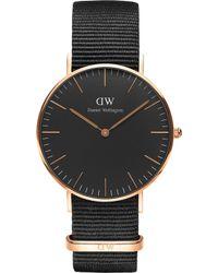 Daniel Wellington - Classic Cornwall Rose Gold Watch - Lyst