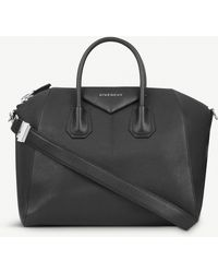 Givenchy - Women's Black Antigona Sugar Soft-grained Leather Tote - Lyst