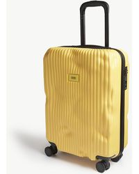Crash Baggage Stripe Cabin Suitcase 55cm - Yellow