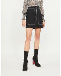 Maje - A-line Woven Skirt - Lyst