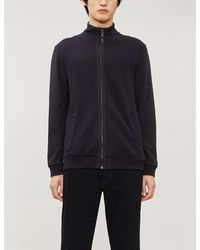 Ted Baker Rouget Zip Knitted Cardigan - Blue