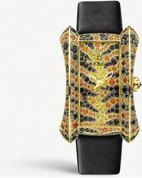 Carl F. Bucherer 00.10706.01.99.12 Alacria 18ct Yellow-gold And Sapphire Watch - Metallic