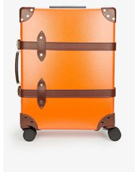 Globe-Trotter Marmalade/brown Centenary Carry-on Vulcanised-fibreboard Travel Suitcase 38cm - Multicolour