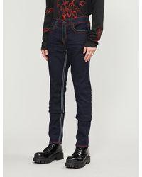 True Religion Geno No Flap Slim Jeans - Blue