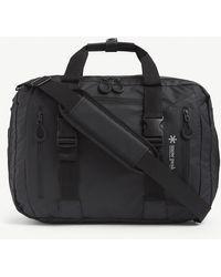 Snow Peak Three-way Adjustable Woven Backpack - Black