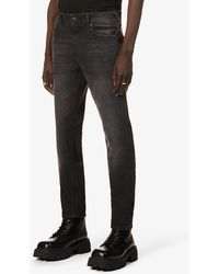 True Religion Rocco Mid-rise Relaxed-fit Jeans - Black