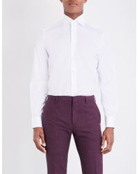 Eton of Sweden - Contemporary-fit Cotton-twill Shirt - Lyst