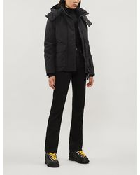 Canada Goose Blakely Feather And Shell-down Parka Coat - Black