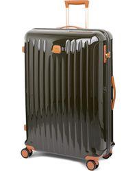 Bric's - Olive Green Stripe Capri Four Wheel Trolley Suitcase - Lyst