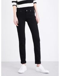PAIGE | Skyline Skinny Mid-rise Jeans | Lyst