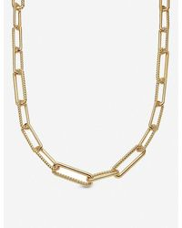 Missoma Radial 18ct Gold-plated Necklace - Metallic