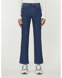 Gucci Disney X Embroidered Slim-fit Jeans - Blue