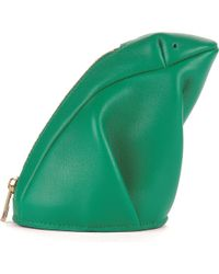 Loewe - Frog Leather Coin Purse - Lyst