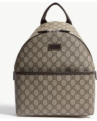 Gucci GG Supreme Coated Canvas Backpack