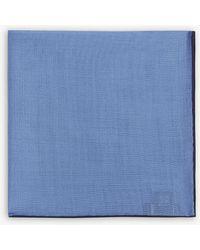 Drake's - Plain Linen Pocket Square - Lyst