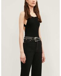 Reformation Daisy Backless Jersey Body - Black