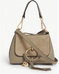 See By Chloé Mini Joan Cross-body Bag - Grey