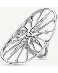 Thomas Sabo - Kingdom Of Dreams Sterling Silver Royalty Star Cocktail Ring - Lyst