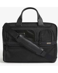 Tumi Alpha Nylon Laptop Briefcase - Black