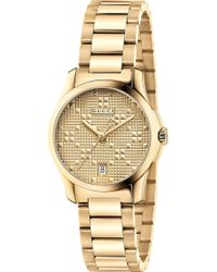 Gucci - Ya126553 G Timeless Gold-plated Stainless Steel Watch - Lyst