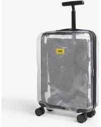 Crash Baggage Share Transparent Cabin Suitcase 55cm - Gray