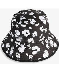 Ted Baker Reversa Reversible Shell Bucket Hat - Black