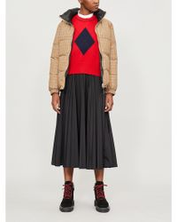 Burberry - Reddich House Check Shell And Down-blend Puffer Jacket - Lyst