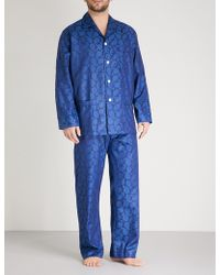 Derek Rose - Paisley-print Cotton Pyjama Set - Lyst