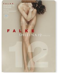 Falke - Shelina Toeless Hold-ups - Lyst