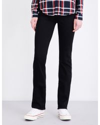PAIGE - Hoxton Straight High-rise Jeans - Lyst
