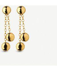 Links of London - Amulet 18ct Gold Vermeil Drop Earrings - Lyst