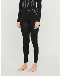 Wolford Theresa Stretch-woven leggings - Black
