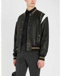 Givenchy Star-embroidered Slim-fit Cotton Shirt - Black