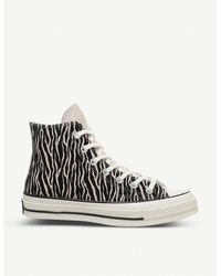 Converse All Star 70s Ox Animal Print High-top Sneakers - Multicolour