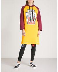 Mini Cream | Tomato Ketchup Cotton-blend Hoody Dress | Lyst