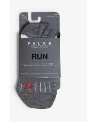 Falke Ru4 Cool Short Running Socks - Grey