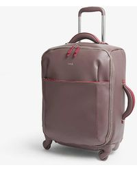 Lipault Variation Spinner Four-wheel Cabin Suitcase 55cm - Grey