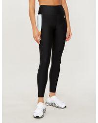 P.E Nation Star Force Stretch-jersey leggings - Black