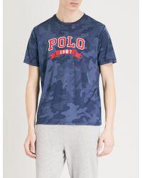 Polo Ralph Lauren - Camouflage-print Jersey T-shirt - Lyst